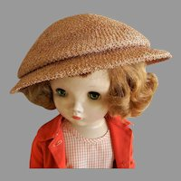 "Vintage ""Mr. John ""Designer Hat from Mid Century for Doll or Woman"
