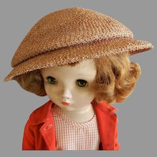 """Vintage """"Mr. John """"Designer Hat from Mid Century for Doll or Woman"""