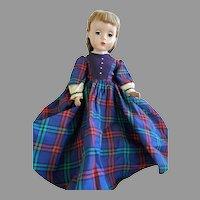 """Vintage, Darker Complexion Madame Alexander 15"""" Jo Doll from Little Women"""