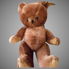!2 Inch Mid Century Brown Mohair Teddy Bear by Character
