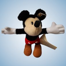"""Steiff Limited Ed. """"Mickey Mouse"""", 70th Birthday"""