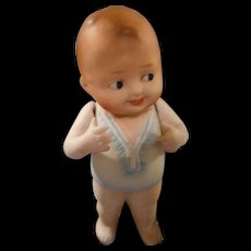 "All Bisque "" Baby Bud "" by Nippon  1920's"