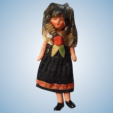 All Original German All Bisque Doll