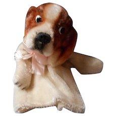 Vintage Mohair Puppet, Googly Eye
