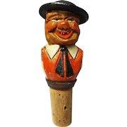 Vintage Anri Hand Carved Bottle Cork