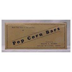 Pop Corn Bars Candy Box by Hobbs
