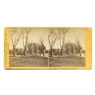 Scarce Portland, Maine 1866 Great Fire Stereoview Soule 2nd Series