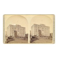 "Minneapolis, Minnesota Pillsbury ""A"" Mill Stereoview by Vanderwarker & Nally"