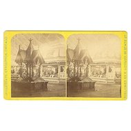 Chicago, Illinois  Inter-State Exposition Stereoview by Lovejoy