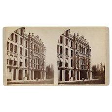 Minneapolis, Minnesota Stereoview Syndicate Block & 1882 Grand Opera House