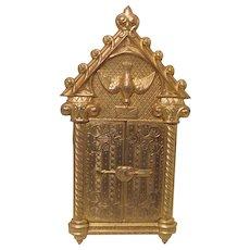 WOW! Avery RaRe Avery Brass Needle Case called VALENTINE, c1872 England