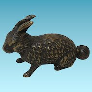 Rare Cottontail Metal Bunny Rabbit TAPE MEASURE