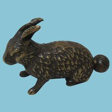 Rare Cottontail Metal Bunny Rabbit TAPE MEASURE