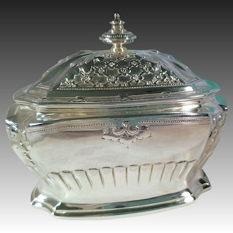 Tiffany & Co, Sterling Silver Covered Box c.1884