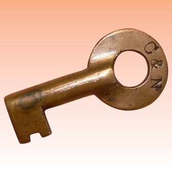 C & N Columbus & Newark subdivision of the Pennsylvania and B & O  Brass Key