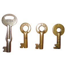 Four New York Central Railroad, Railway System Keys