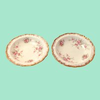 Paragon Bone China Victoriana Rose Coasters - Set of Two