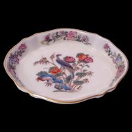 Wedgwood Bone China Kutani Crane 5-1/8 inch Tray