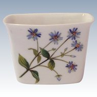 Minton Bone China Meadow Double Floral Motif Cigarette Holder