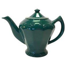 Hall China Turquoise Albany Teapot