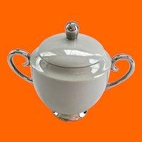 Miramar by Flintridge China, California Mini Sugar Bowl and Lid