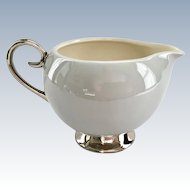 Miramar Gray Creamer by Flintridge China, California