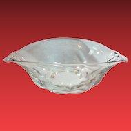 Duncan & Miller Canterbury Pattern Elegant Glass Crystal Bowl