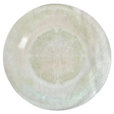Indiana Glass Vernon #616 Green Depression Glass Luncheon Plate
