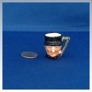 Royal Doulton Tiny Character Jug John Peel - One of the Original Twelve Tinies