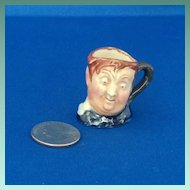 Royal Doulton Tiny Character Jug Fat Boy - One of the Original Twelve Tinies