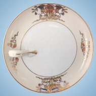 Noritake Gold Trimmed One-Handled Lemon Plate