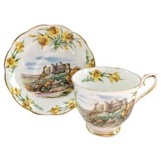 Royal Albert Bone China Traditional British Songs Men of Harlech Teacup and Saucer