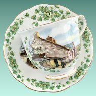 Royal Albert Bone China Traditional British Songs Series Londonderry Air Teacup and Saucer
