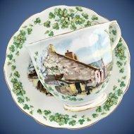 Royal Albert Bone China Traditional British Songs Series Londonderry Air Teacup and Saucer