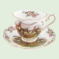 Royal Albert Bone China Traditional British Songs Series John Peel Teacup and Saucer