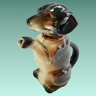 Erphila Begging Dachshund Dog Teapot U.S. Zone Germany