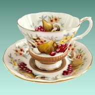 Royal Albert Bone China Country Fayre Series Devon Teacup and Saucer