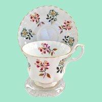 Royal Albert Bone China Grasmere Montrose Shape Teacup and Saucer