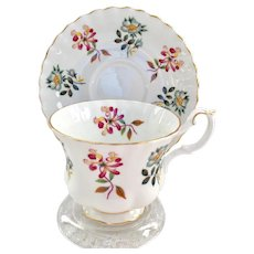 Royal Albert Bone China Grasmere Montrose Shape Teacup and Saucer
