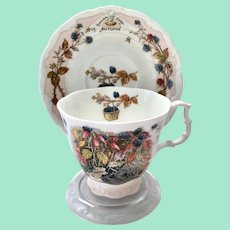 Autumn by Royal Doulton Cup and Saucer from the Brambly Hedge Collection
