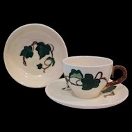 Metlox Poppytrail 'California Ivy'  Fruit Bowl Cup and Saucer