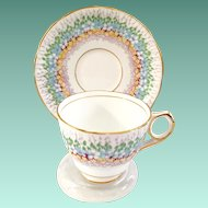 Royal Stafford England Bone China Glendale Teacup and Saucer