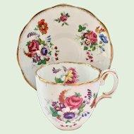 Royal Albert Bone China Barbara Ann Teacup and Saucer