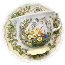 Spring by Royal Doulton Cup and Saucer from the Brambly Hedge Collection