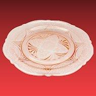 Hazel Atlas Royal Lace Pink Depression Glass Dinner Plate