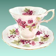 Random Harvest Series Kent Teacup and Saucer Royal Albert Bone China