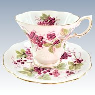 Random Harvest Series Kent Teacup and Saucer Royal Albert Bone China