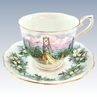 Royal Albert Bone China Hudson's Bay Company Teacup and Saucer