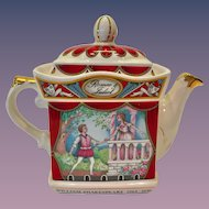 Sadler England Romeo and Juliet Teapot William Shakespeare Series