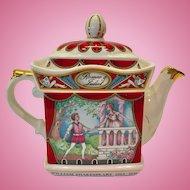 Sadler England Romeo and Juliet Teapot William Shakespeare Series